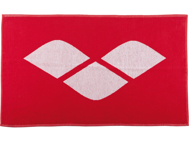 arena Hiccup Towel red-white